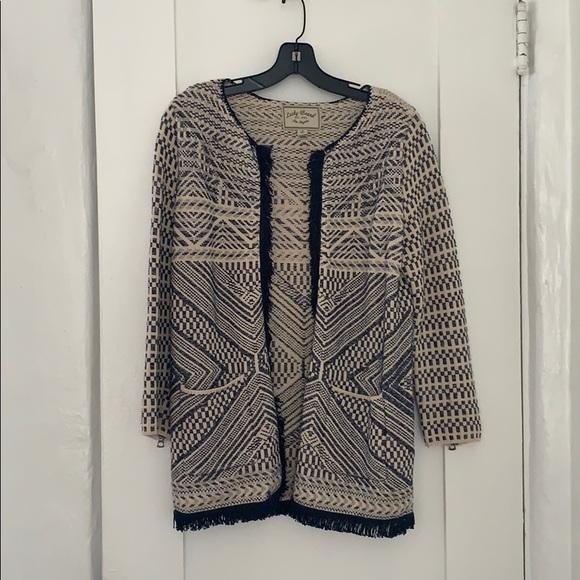 Lucky Brand Jackets & Blazers - Beautiful tweed Lucky Brand blazer/coat
